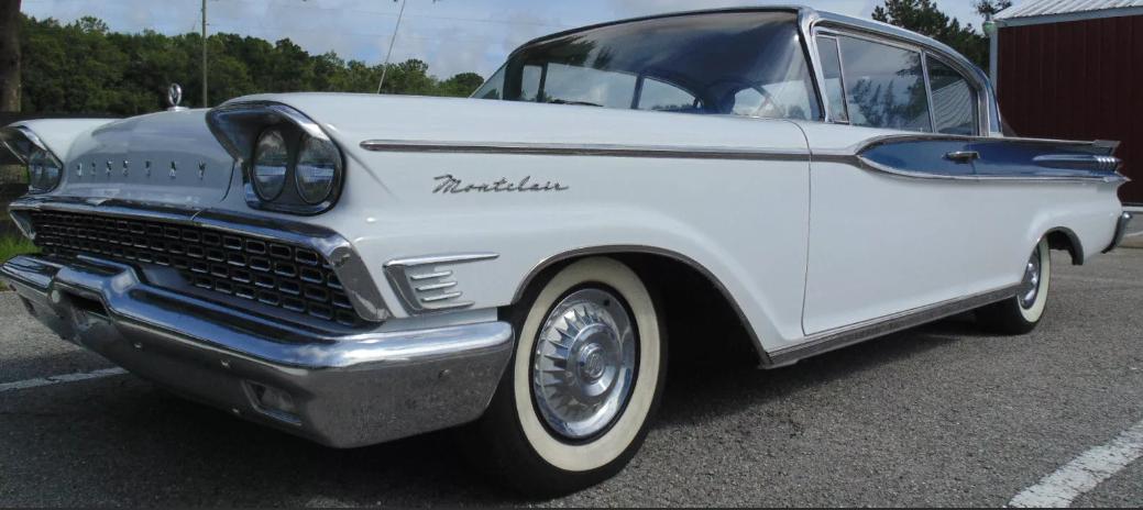Mercury авто 1958, 1959