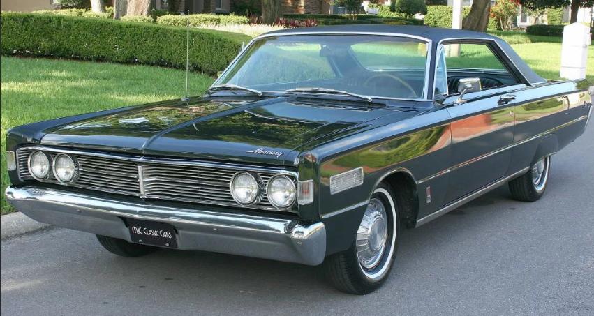 Mercury auto 60-х годов