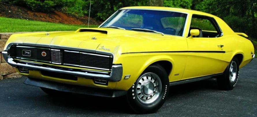 Ponycar Mercury 1970