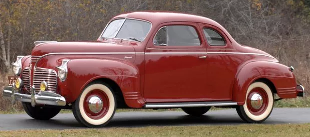 Plymouth 1941 PT 125