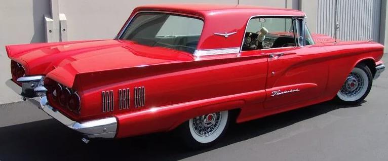 Ford Thunderbird 1960 года