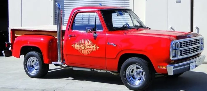 Dodge Lil Red Truck 1978-1979 г.