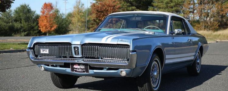 Mercury Cougar 1967 года